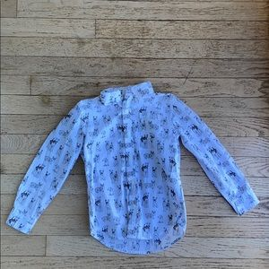 Toddler dress up shirt